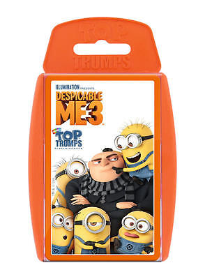 Top Trumps Despicable Me 3 Minions Card Game Brand New