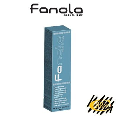 Crema Colorante Professionale Per Capelli 100 ml - Tintura Fanola