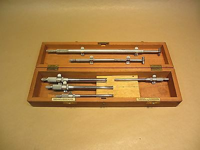 MOORE & WRIGHT - SMALL HOLE + TELESCOPIC BORE GAUGES  - Myford Boxford