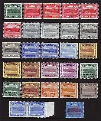 Dominica. 1908-1922. Mounted Mint.