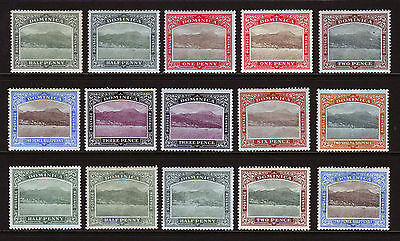 Dominica. 1903-1908. Mounted Mint.