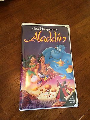 Black Diamond Edition VHS Walt Disney's Aladdin