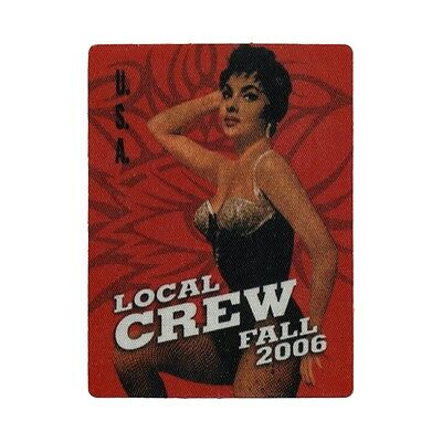 Bob Dylan authentic Local Crew 2006 tour Backstage Pass
