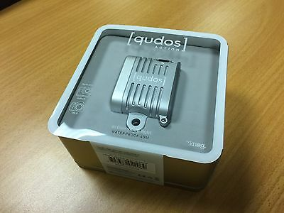 Knog Qudos Action Light Fits GoPro Sony Action Cam DSLRs 400 Lumens Silver