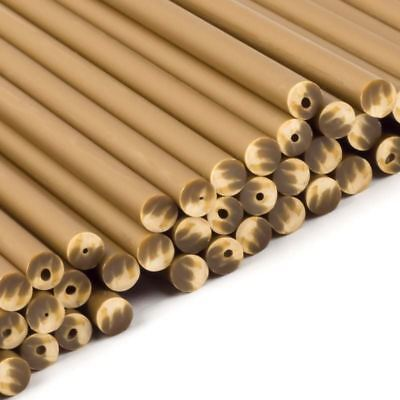 Gold plastic Lollipop Sticks 114mm x 4mm  x 50 Cakepop Craft Novelty