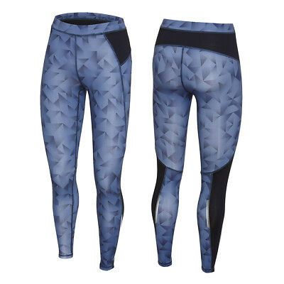 2XU Women's Printed Shattered Tights Printed Denim Wash/DMW XS