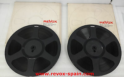 "1 COIL REVOX WITH BOX 10,5"" (26cm) REEL TO reel TAPE"