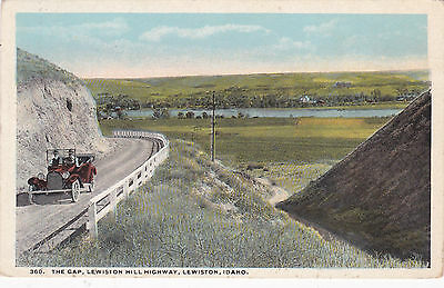 LEWISTON , Idaho, 1910s-20s; The Gap, Lewiston Hill Highway