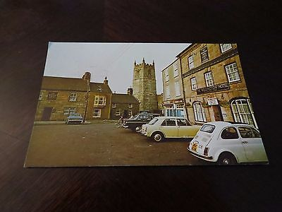 Postcard St Just Cornwall Wellington Hotel Kings Arms 1977 Old Cars