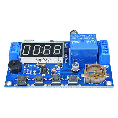 Real-time Delay Timer Timing Switch Control Synchronization Relay Module