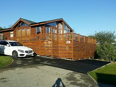 Newquay lodge Cornwall  holiday White Acres