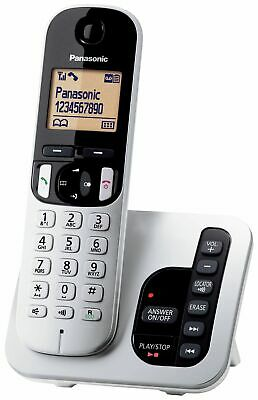 Panasonic KX-TGC220ES Cordless LCD Telephone with Answer Machine Single