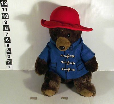 "14"" Paddington Bear Soft Toy With Red Hat"