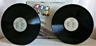 V/A-NOW THAT'S WHAT I CALL MUSIC 8-1986-2x VINYL-GF SLEEVE-EX/EX