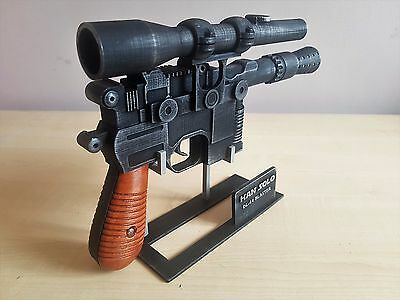 Replica blaster HAn Solo Star Wars coleccionismo cosplay 1:1 star-replicas