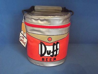 The Simpson Duff Beer Cool Bag And Beaker With Tags Summer Rare