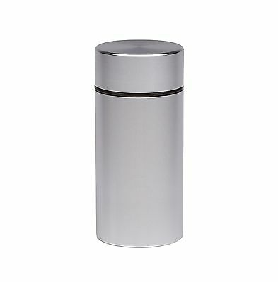 Stash Jar - Airtight Smell Proof Aluminum Herb Container Waterproof Scent Loc...
