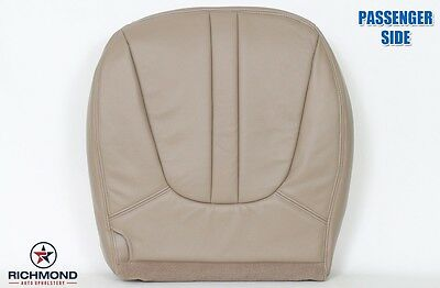 2000 Ford Expedition Eddie Bauer -PASSENGER Side Bottom Leather Seat Cover TAN