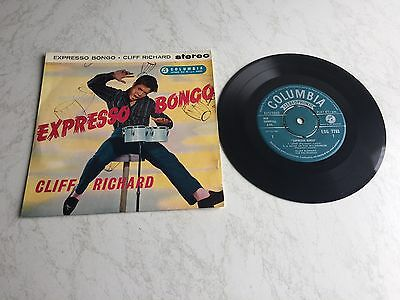 "Cliff Richard rare Collector UK EP "" Expresso Bongo "" in Stereo"