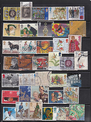 Great Britain Large Pictorial Stamp Selection  3 SCANS (GB22054)