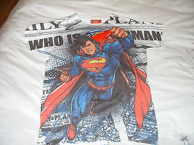 BNWT new with tags SUPERMAN t-shirt / top age 12, 152cm