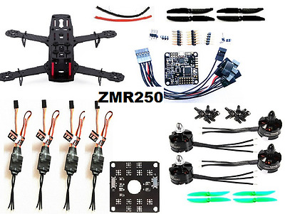 Racing Drone QAV250 ZMR250 Carbon Fiber NAZE32 10DOF 2300KV RC Quadcopter FPV UK