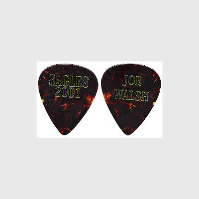 The Eagles Joe Walsh authentic 2001 concert tour band issued stage Guitar Pick