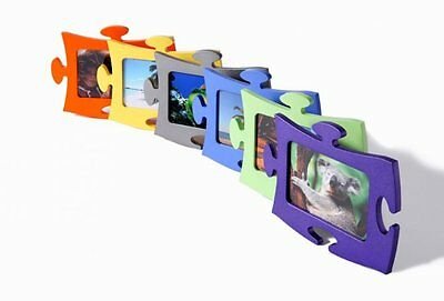 Frame Resin Type Puzzle For Photo 13 X 18 Cms. Various Colors New