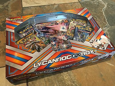 Pokemon Lycanroc GX Box Set Pokémon Cards TCG Sun And Moon Brand New And Sealed
