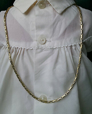 "Collier Or Jaune 750/1000 - Maille ""Paloma"" - 50 cm - 18.70 g - Neuf"