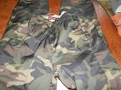 """Mens """"One Tough Brand"""" Reversible Camo Pants for Hunting Paintball Size M-L"""
