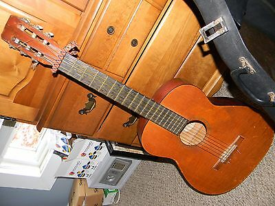 "The Harmony Co Custom Built ""Classic Guitar"" Vintage Acoustic w/ Case"