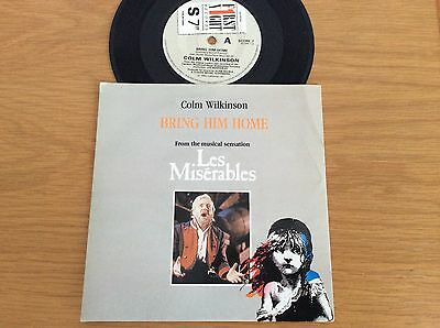 COLM WILKINSON / LES MISERABLES -Bring Him Home / Who Am I ~1985 UK FIRST NIGHT