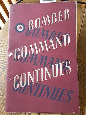 Bomber Command Continues Wwii Hmso Booklet Ww2 Offensive Against Germany
