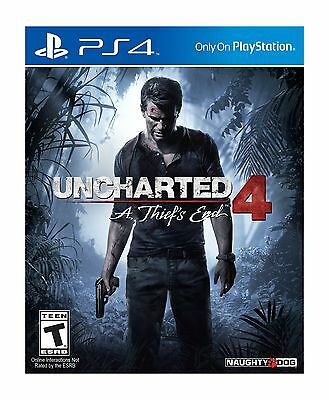 Sony Uncharted 4: A Thief's End - Action/adventure Game - Playstation 4