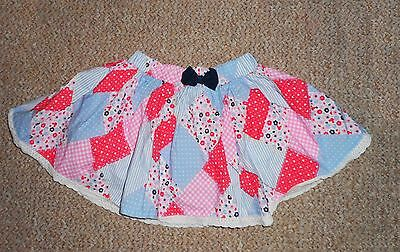 ☆ George Disney Baby Patchwork Skirt 12-18 Months ☆