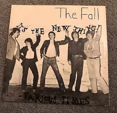 """The Fall, It's The New Thing 7"""" Vinyl 1978"""