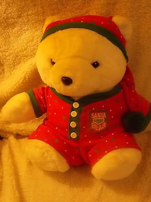 Santa Bear Dayton Hudson  1990 Dream Adventure