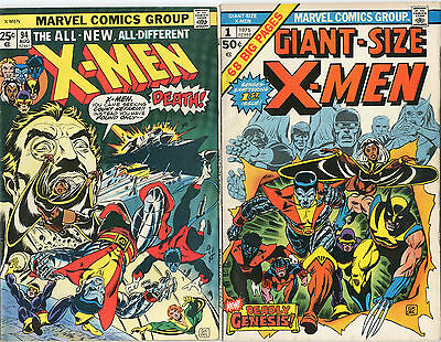 1975 Giant Size X-Men 1 & X-Men 94