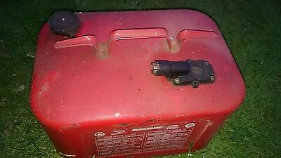 MERCURY/MARINER/QUICKSILVER OUTBOARD METAL FUEL TANK. Marine Boat