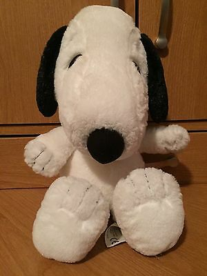 Metlife Collar Plush SNOOPY Peanuts Character 2010 Puppy Dog Stuffed Animal Toy