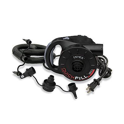 Intex Quick-Fill AC Electric Air Pump 110-120 Volt Max. Air Flow 38.9CFM