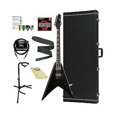 Dean Guitars Electric Guitar Kit with Case and ChromaCast Accessories-Classic...