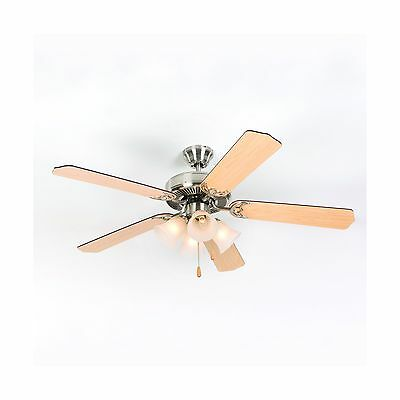 Yosemite Home Decor WESTFIELD-BBN-4 52-Inch Ceiling Fan with Light Kit and Sa...