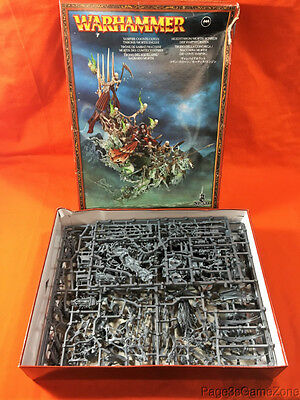 Warhammer Vampire Counts Coven Throne Mortis Engine Opened/Complete/Unpunched