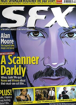 SFX UK magazine #147 KEANU REEVES A SCANNER DARKLY cover