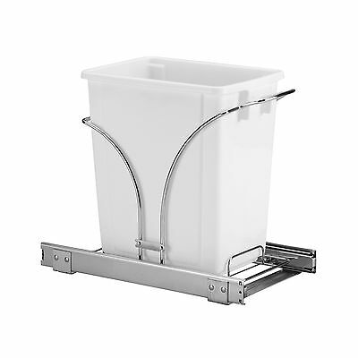 Household Essentials Under Cabinet Single Sliding Trash Can Caddy 5-Gallon