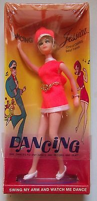 VINTAGE 1970 TOPPER DAWN DOLL DANCING Jessica UNOPENED IN BOX MIB