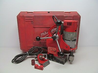 "Milwaukee 4270-20 1 1/2"" Compact/Electromagnetic Drill Press w/Case"