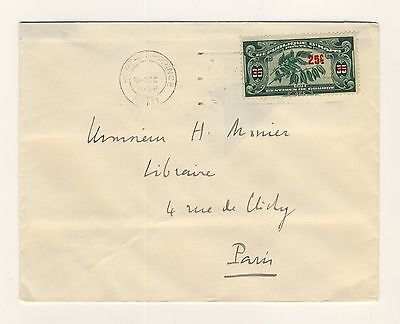 HAITI - 1939 Attractive Cover from Port-au-Prince to Paris, France